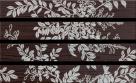 Rako WENGE listela 45 x 5,7 cm hnedá WLAPP001