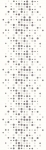 Paradyz ABRILA INSERTO BODKA B matný obklad 20x60 cm biela