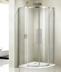 Aquatek ADMIRAL S7 štvrťkruhový sprchovací kút 90 cm