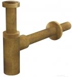 Alcaplast ANTIC sifón umývadlový celokovový bronzový