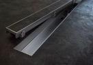 Alcaplast FLOOR 650 - 1150 nerezový rošt lesklý  70 - 120 cm