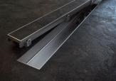 Alcaplast FLOOR 650 - 1150 nerezový rošt  70 - 120 cm