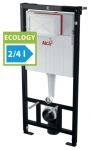Alcaplast SADROMODUL AM101-1120E predstenový inštalačný systém Ecology