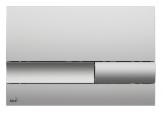 Alcaplast ovládacie tlačítko pre predstenové inštalačné systémy chróm matný M1732