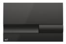Alcaplast ovládacie tlačítko pre predstenové inštalačné systémy čierne M1738