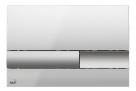 Alcaplast ovládacie tlačítko pre predstenové inštalačné systémy chróm lesklý/matný M1743