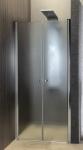 Aqualine PILOT dvojkrídlové sprchové dvere 80-100 cm