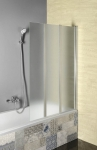 Aqualine VANDA vaňová zástena 100 cm skladacia