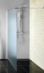 Aqualine WALK-IN sprchová zástena matné sklo 80/90/100/110 cm