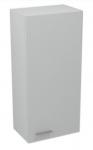 Aqualine ZOJA bočná skrinka závesná biela 35x76 cm ľavé