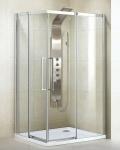 Aquatek ADMIRAL R14 obdĺžnikový sprchovací kút 80 x 100 cm