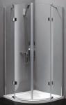 Aquatek EXTRA S7 štvrťkruhový sprchový kút 90 cm