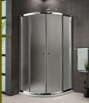 Aquatek FAMILY S4 štvrťkruhový sprchovací kút 80 alebo 90 cm
