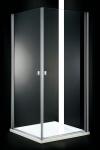 Aquatek GLASS A2 dvojdverový sprchovací kút 90