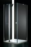 Aquatek GLASS A3 štvorcový sprchový kút  90 cm