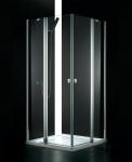 Aquatek GLASS A4 rohový sprchovací kút 90