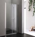 Aquatek GLASS B2 sprchové dvere 70/80/90/100 cm chróm