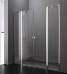 Aquatek GLASS B4 sprchové dvere+stena 105/110/115/120/125 /130 chróm