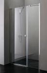 Aquatek GLASS B7 dvere do niky 100/105/110/115/120/125/130/135/140 cm, chróm
