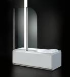 Aquatek GLASS L22 vaňová zástena sklápacia 120 x 140 cm