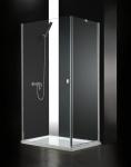 Aquatek GLASS R10 obdĺžnikový sprchový kút 100 x 80 cm
