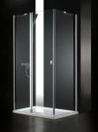 Aquatek GLASS R13 obdĺžnikový sprchový kút 100 x 80 cm
