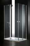 Aquatek GLASS R14 obdĺžnikový sprchovací kút 80 x 100