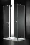 Aquatek GLASS R23 obdĺžnikový sprchovací kút 80 x 120