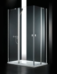 Aquatek GLASS R24 obdĺžnikový sprchovací kút 80 x 120