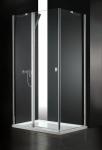 Aquatek GLASS R33 obdĺžnikový sprchový kút 120 x 90 cm