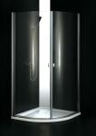 Aquatek GLASS S2 štvrťkruhový sprchovací kút 90 cm