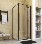 Aquatek JAGUAR A3 čierny sprchový kút 90x90 cm