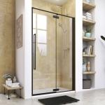 Aquatek JAGUAR B5 čierne sprchové dvere 90-120 cm