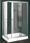 Aquatek MASTER R14 obdĺžnikový sprchový kút chróm 100 x 80 cm
