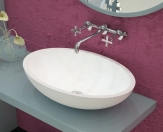 Aquatek ROSE umývadlo na dosku 50 cm
