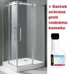 Aquatek TEKNO R14 obdĺžnikový sprchový kút 100 x 80 cm