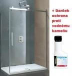 Aquatek TEKNO R43 obdĺžnikový sprchový kút 140 x 80 cm