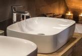 Ceramica Latina umývadlo na dosku AVER 50 cm