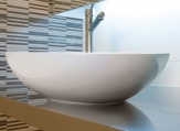 Ceramica Latina oválne umývadlo na dosku OVAL1 52,5 cm