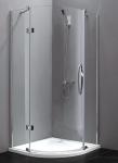 Aquatek EXTRA S5 štvrťkruhový sprchový kút 90 cm