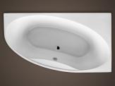 Santech asymetrická vaňa LAGUNA 180 x 100 / 170 x 95 cm pravá