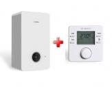 Bosch prietokový kondenzačný kotol GC2300iW 20/25 C + termostat CW 100