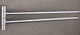 Nimco držiak na uterák BORMO otočný dvojitý chróm BR 11096-26