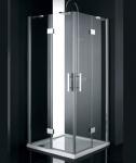 Aquatek CRYSTAL A4 štvorcový sprchovací kút 90 cm