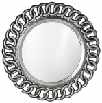 CERCLE retro zrkadlo strieborné
