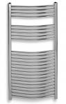 Novaservis kúpeľňový radiátor so šírkou 60 cm oblý chróm