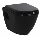 Creavit TEKKO závesné WC+bidet 2v1 TP325BLACK