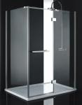 Aquatek CRYSTAL R53 obdĺžnikový sprchový kút 140 x 90 cm
