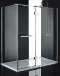 Aquatek CRYSTAL R63 obdĺžnikový sprchový kút 160 x 90 cm