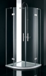Aquatek CRYSTAL S7 štvrťkruhový sprchovací kút 90 cm